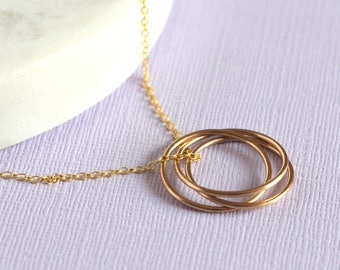 Handmade Nest Necklace - Gold Fill | handmade necklace | birthday gift | simple gold jewellery | 30th birthday present | anniversary gift