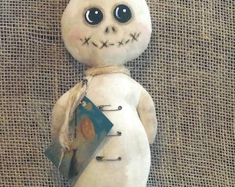 Primitive Ghost Stumpy Doll