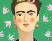 FRIDA   Original Painting