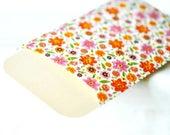 Floral Envelopes {5 w cards + seals} Embossed Pink | Coin Money Voucher Envelopes | Pink Stationery Set | Gift under 10 | Pink Note Sets