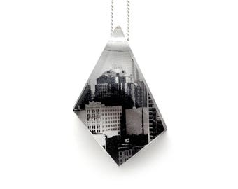 Geo City Pendant (Chain Sold Separately)