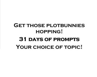 Custom Story Prompts You Pick the Theme! One-a-Day Monthly Collection (eBook)
