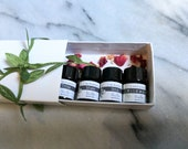 Organic Parfum Samplers Set:  vegan - Eau de Parfum