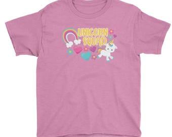 Unicorn Squad t-shirt, For Kids