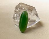 Wyoming Apple Green Jade cabochon