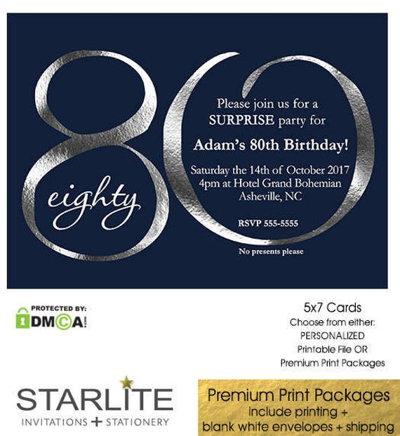 80th birthday invitations 80th birthday invitations for men 80th il570xn filmwisefo Choice Image