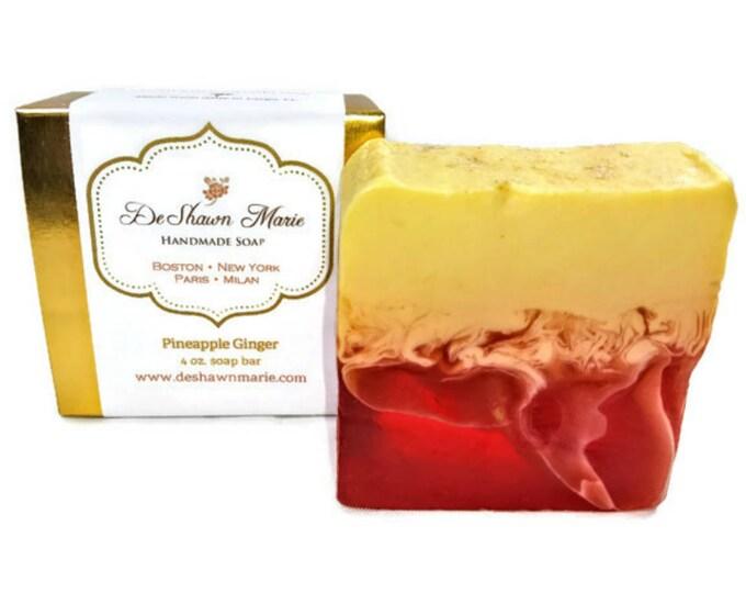 Pineapple Ginger Handmade Soap