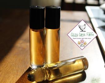 Blackberry Sage Perfume Oil   Natural Perfume   Roll on Perfume   blackberries, mulberries, orange zests   Organic Perfume   Womens Perfume