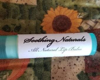 All Natural Vegan Lip Balm Honey Bee Mine or French Vanilla