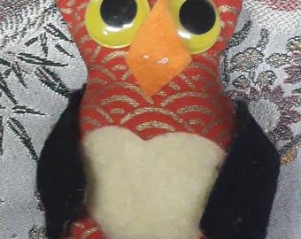 Hibou double face  amigurumi kawaii