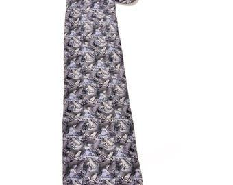 The Nature Conservancy Maki Frog 100% Imported Silk Tie Necktie