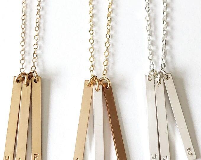 "Featured listing image: Sticks & Stones ""Elm"" Necklace"