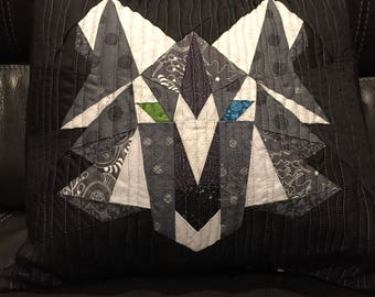 Wolf Throw Pillow Cover