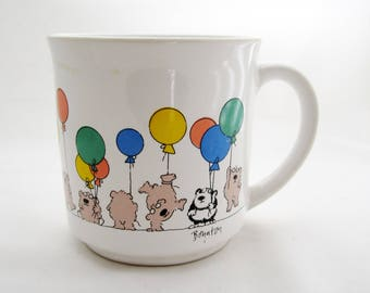 Sandra Boynton Bears, Pandas and Balloons MUG  Japan
