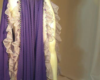 Belly Dancer Skirt, Turkish Gypsy, Renaissance Belly Dance, Ren Faire Costume, Renaissance Gypsy, Belly Dance Costume, Circle Skirt,Ruffles