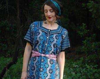 Maxi Dress / Gypsy Dress / Festival Clothing / Cotton / Gypsy / Boho / Hippie / Long Dress / Indian Dress