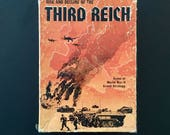 Rise and Decline of the Third Reich WW2 Board Game Avalon Hill 1974