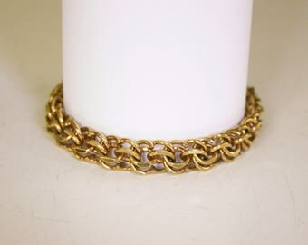 Gold Chain with Safety Chain, 12K GF