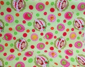 Strawberry Shortcake Novelty Cotton Fabric 1 1/4 Yards X1207