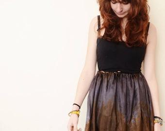 Boho skirt made from silk