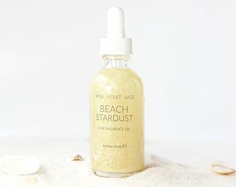 Body Oil | Coconut Body Oil with shimmer sparkle | 100% natural & vegan