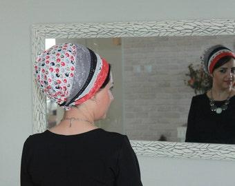 NOUVEAU juif enveloppement de la tête, couverture de dentelle, couvre-chef juif, Tichel, la tête de bandana, cheveux s'enroule, kopfbedeckung, par oshratdesignz