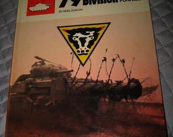 79th Armoured Division Book - Vintage 1972 British Military Hobo's Funnies Book