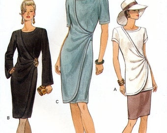 Vogue 8999 Sewing Pattern for Misses' Dress, Top and Skirt - Uncut - Size 18, 20, 22