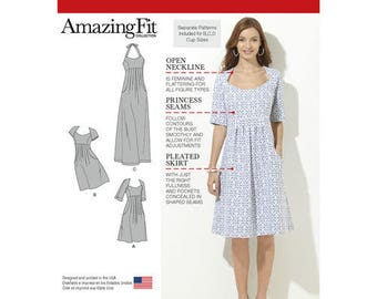 Summer Sewing  Pattern 1800 Misses' Amazing Fit Dresses Sewing patterns Misses' Dress Sewing Pattern sewing patterns for beginners