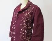 Antique Silk Embroidered Jacket