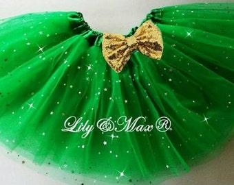 kelly green tutu,Christmas tutu, birthday party favor tutu, favor tutu,Halloween party tutu,st.patricks party tutu,Balet tutu