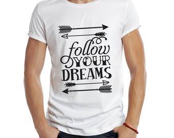 Quote T-shirt , T-shirt crew neck , Unisex T Shirt , Inspirational Quote T-shirt , Urban Fashion , Graphic Tee , Art To Wear