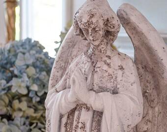 Gorgeous Prayer Angel Statue, Garden Patio