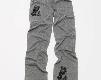 my faithful Bulldog Pants, Yoga Pants, Lounge Pants, S,M,L,XL