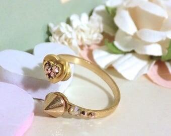 Heart Spike Ring