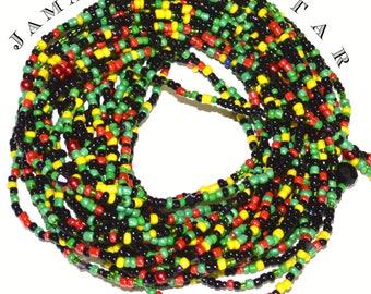 Jamaica Star ~ American Waist Beads