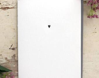 Simple Heart - Letterpress Card