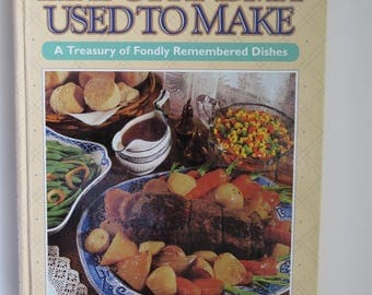 Like Grandma Used to Make Cookbook - 1996 1st Edition - Readers Digest - Recipes Meals Chef Cook Book - Kitchen Collectible - Comfort Food