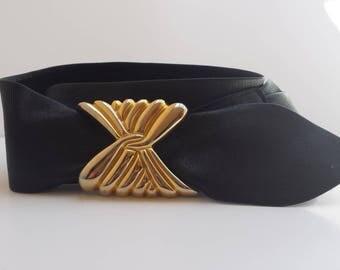 Black Cinch Belt