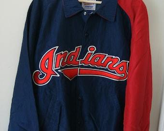 Vintage Cleveland Indians Starter Jacket XL