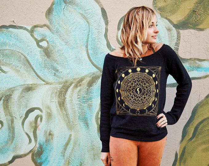 MOON LILLITH Fleece Sweatshirt