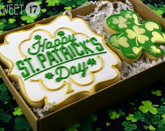 St. Patrick's Day Sugar Cookies Box Set