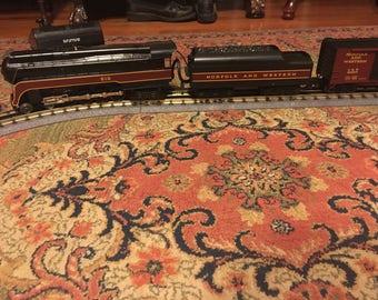 Vintage Train Set Rail King complete tracks engine