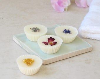 Personalised Aromatherapy Bath Melts Gift Set - pamper gift - bridesmaid gift - bath gift set - bath bombs - vegan bath products