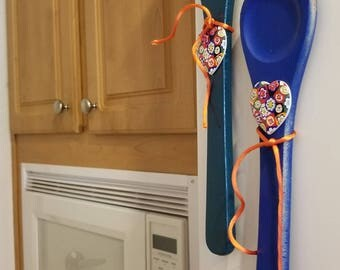 FORK and SPOON refrigerator magnets Country kitchen Decor.