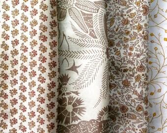 Fat Quarters, Silk Fabric, Sari Silk, FQ 192