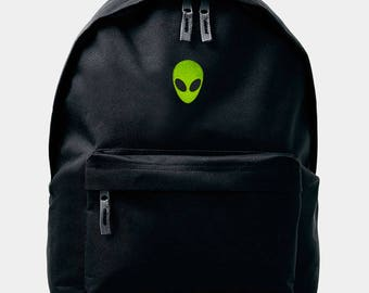 Alien Backpack Rucksack by Art Disco