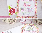 Tea Party Bridal Shower I...
