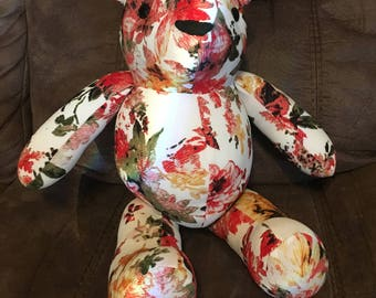 Memory Bear Keepsake made from clothes of a loved one