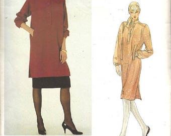 Vogue 2773 Paris Original Pattern, Yves Saint Laurent, Misses Dress, Tunic And Skirt, Size 10, UNCUT